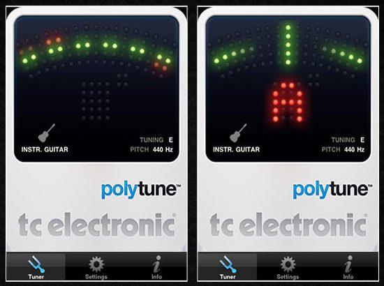 Die besten Apps rund um die Gitarre tc polytune