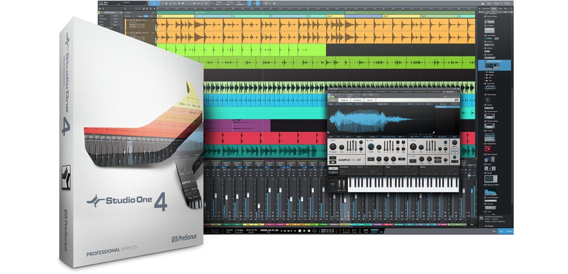 DAW Studio One Pro 4