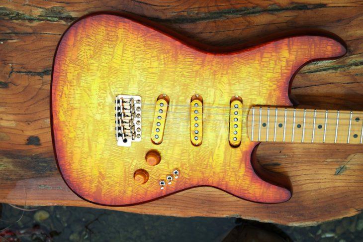 Die beste Fender Strat Kopie Pearlvibe