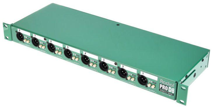 Radial Engineering Pro-D8 Aufsicht