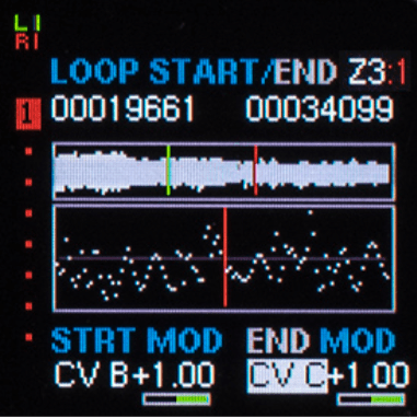 Die Loops können getrimmt werden und zusätzlich mit einer Smooth-Funktion geglättet werden