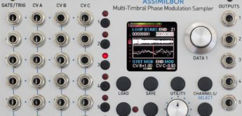 Test: Rossum Electro-Music Assimil8or, Eurorack-Sampler