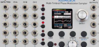 Test: Rossum Electro-Music Assimil8or, Eurorack-Sampler