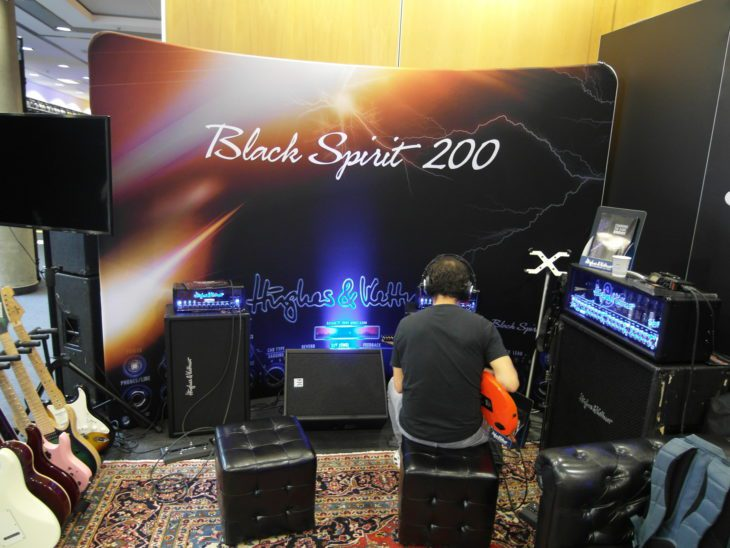 Hughes & Kettner Black Spirit 200 1