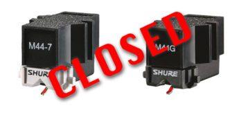 Top News: Shure stellt Phono-Produkte ein