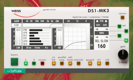 Test: Softube Weiss DS1 MK3, MM-1, Mastering-Prozessor, Plug-in