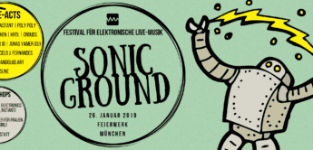 Event-Ankündigung: Sonic Ground am 26.1.2019 in München