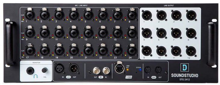 SoundGrid-Hardware: SoundStudio STG-2412