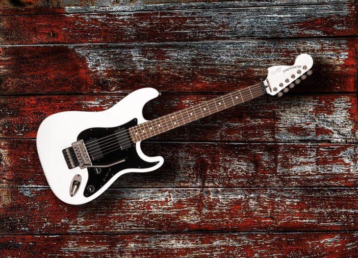 Die besten E-Gitarren 2018 Squier Stratocaster