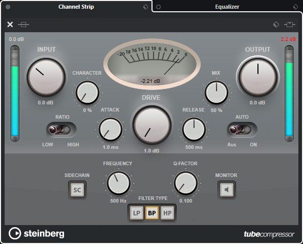 Steinberg Cubase Pro 10 - Compressor