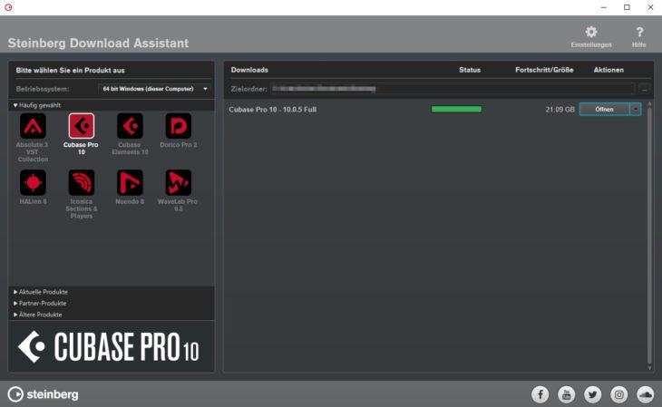 Steinberg Cubase Pro 10 - Download
