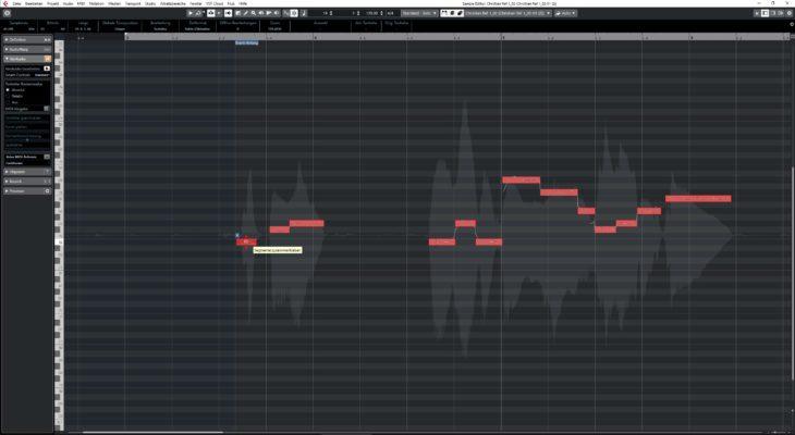 Steinberg Cubase Pro 10 - VariAudio3