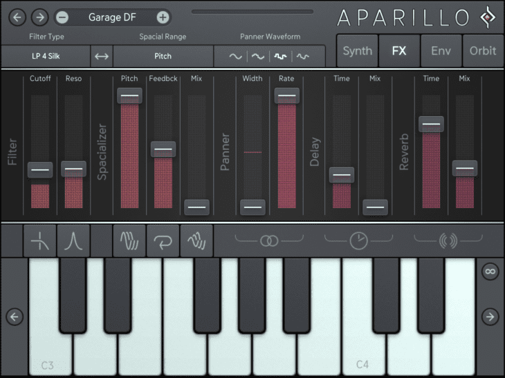 Sugar Bytes Aparillo iOS FX