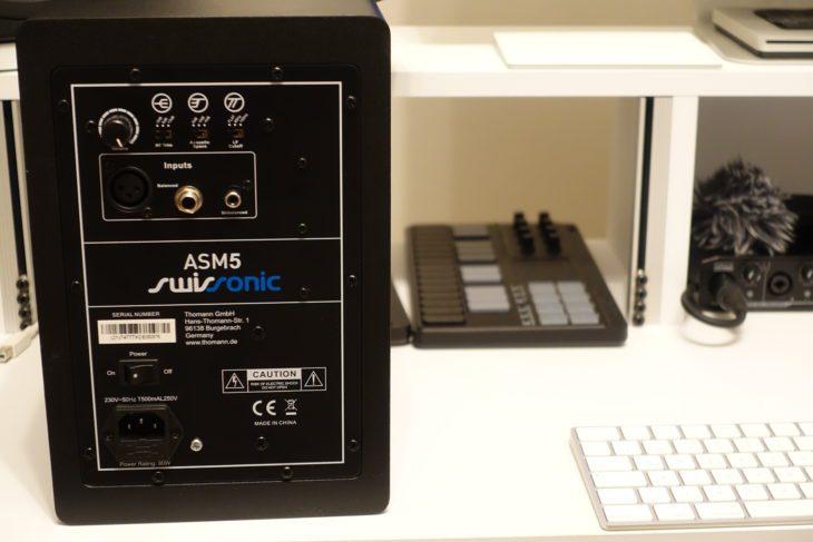 Swissonic ASM5 Rückseite