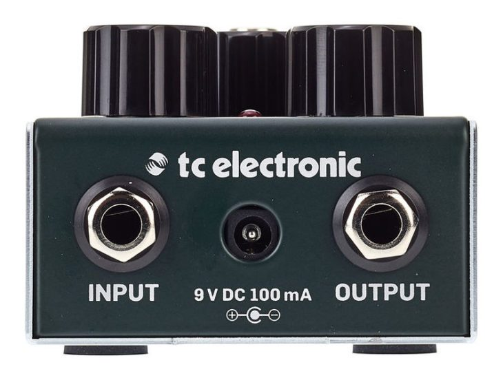 TC Electronic Gauss Tape Echo - Stirnseite