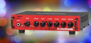 Test: TC Electronic Thrust BQ250, Bassverstärker