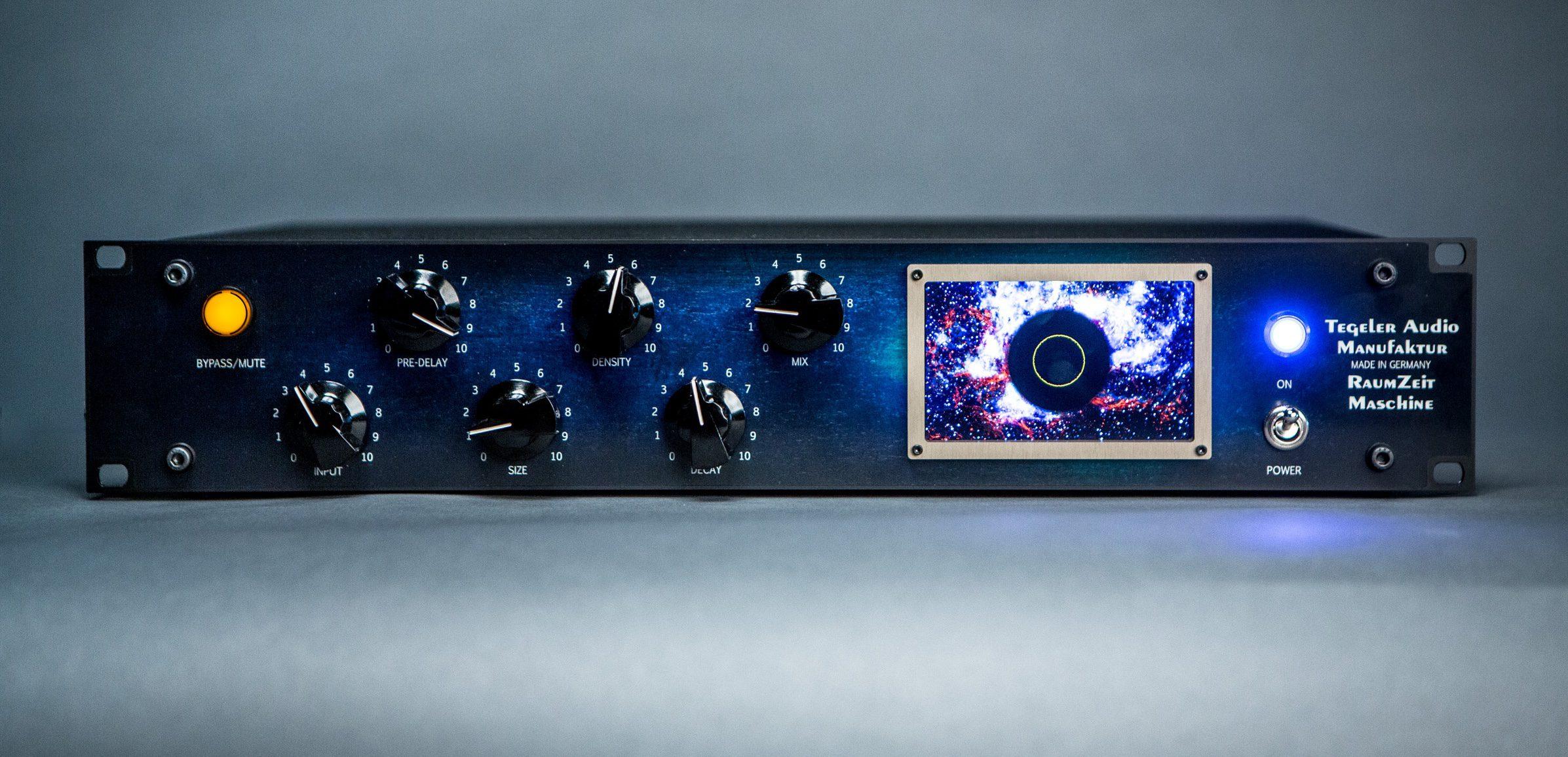 Test Tegeler Audio Manufaktur Raumzeitmaschine Rohren Hallgerat