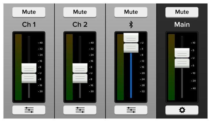 Thump 15BST App Bluetooth Volume