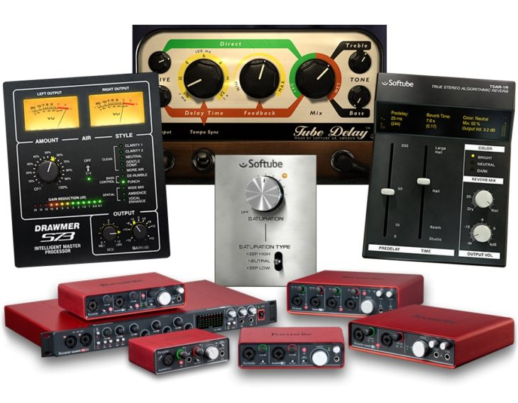 Focusrite scarlett Octopre Softube Bundle