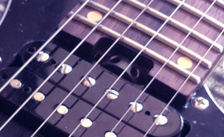 Harley Benton Dynamic-HSH FMT truss rod