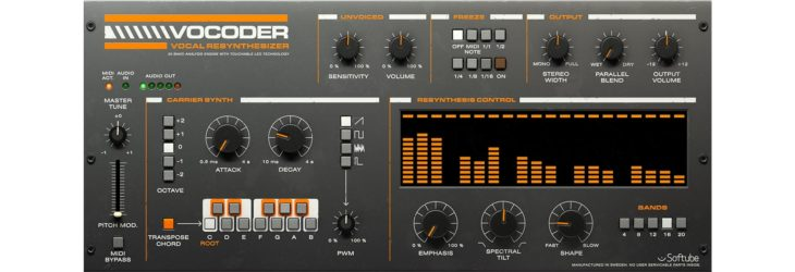 universal audio softube vocoder