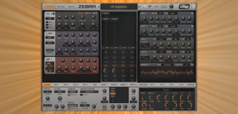 Superbooth 18: u-he Zebra 2.8, Software-Synthesizer
