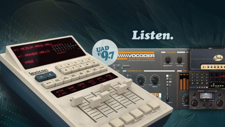 universal audio 9.7