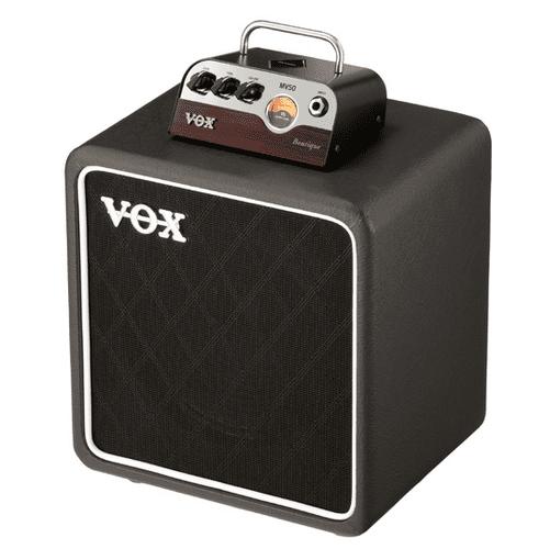 VOX MV50 Boutique stack