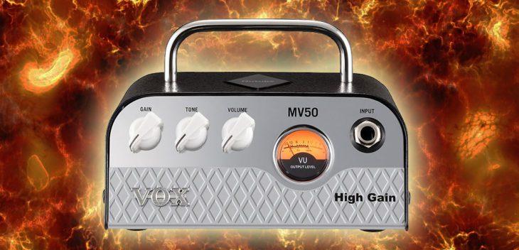 VOX MV50 High Gain Titel