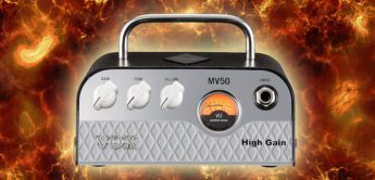 Test: VOX MV50 High Gain, Gitarrenverstärker