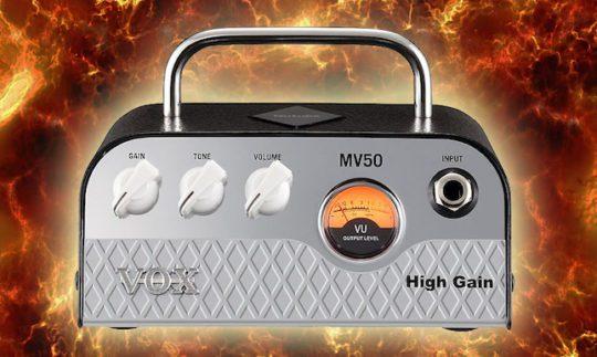 Test: VOX MV50 High Gain, Gitarrenverstärker