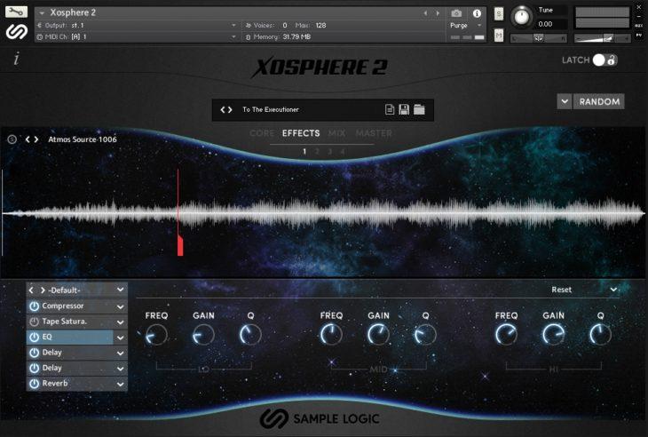 Effektsektion - Xosphere 2