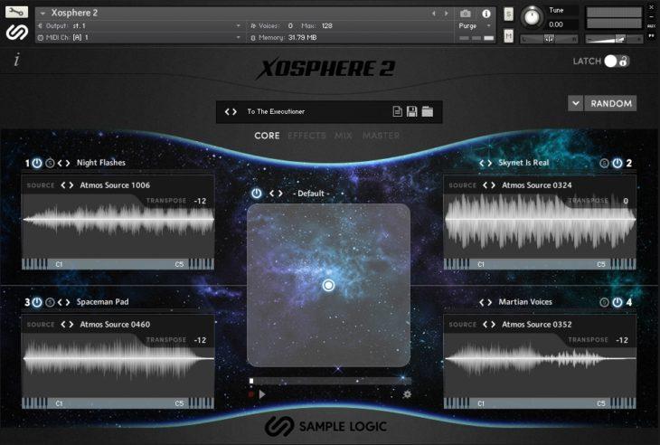 User Interface Xosphere 2