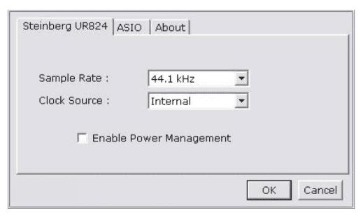 USB-Treiber Control Panel WIN 1