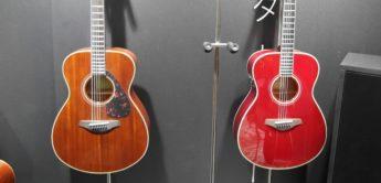 Guitar Summit 2018: Yamaha Transacoustic, Akustikgitarren