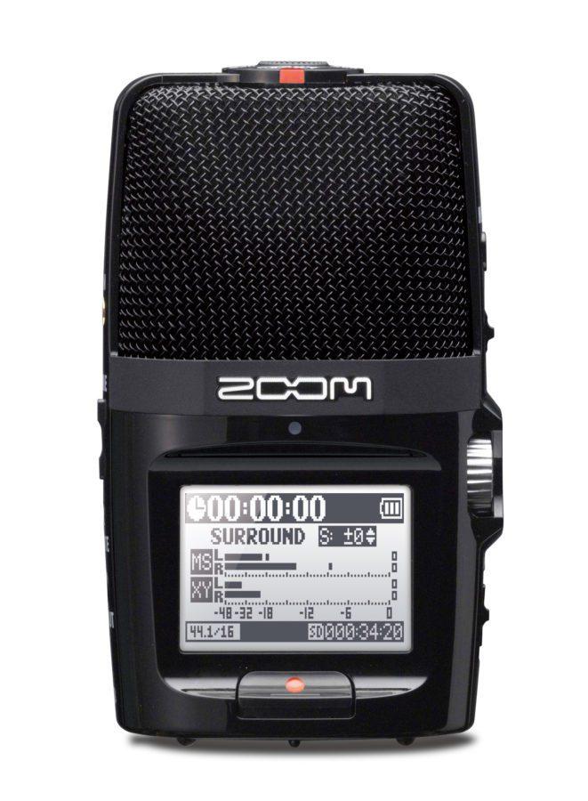 Zoom H2n Rückseite
