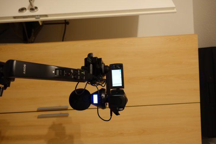 Zoom H3-VR am Stativ