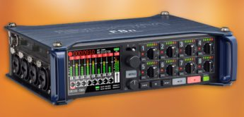 Test: Zoom F8n, Multitrack Recorder