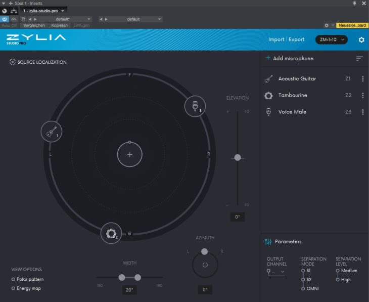 ZYLIA Portable Recording Studio Bild 5