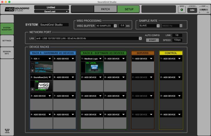 DiGiGrid SoundGrid Studio01