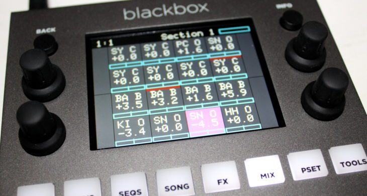 1010music Blackbox Userbild Mixerpage