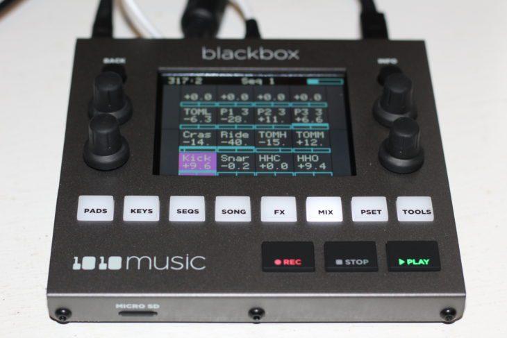 1010music Blackbox Userbild PADS