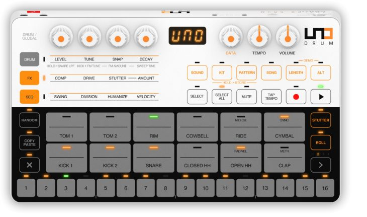 IK Multimedia UNO Drum - Panel