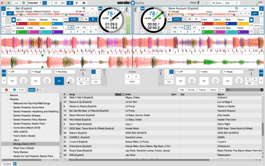 Serato DJ Pro 2.2