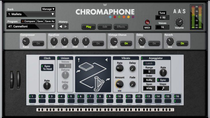 Chromaphone 2 - Die Gui