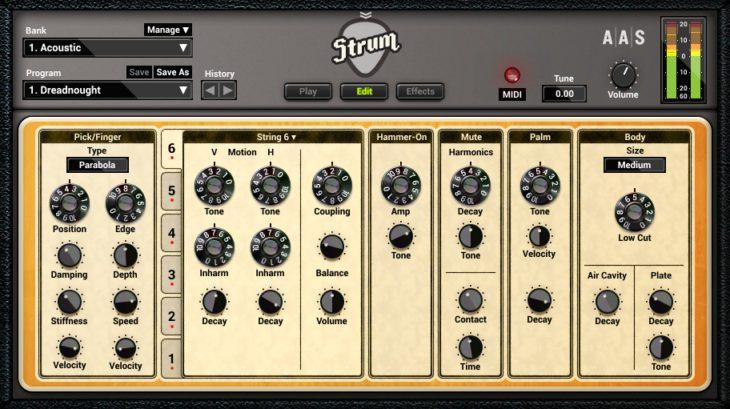 AAS Strum GS 2 - Edit