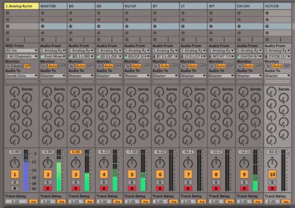 Ableton Individual Tracks