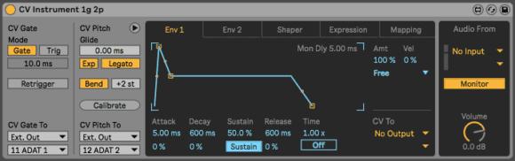 Ableton Live CV Tools - Ins Env1