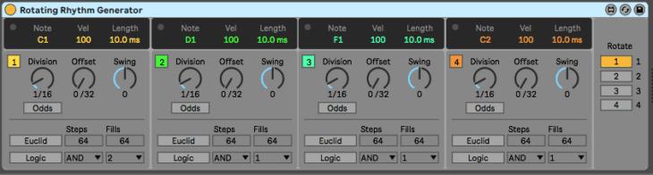 Ableton Live CV Tools - Rotating