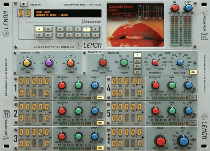 Acustica Audio Lemon